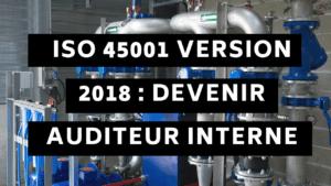 ISO 45001 version 2018 : Devenir auditeur interne